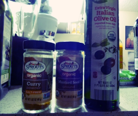 Curry has been linked to Alzheimer prevention. It's also shown to be a cancer suppressor. It also reduces inflammation in the body. The benefits of ground mustard seed are similar to that of curry, along with slowing aging and fighting infections. Olive, in moderation, can improve circulation, which, in turn, can improve your sex life, by allowing blood to flow to 'certain areas' more freely. It contains a chemical known as oleocanthal which acts a pain reliever in the body.